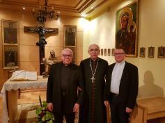 Spotkanie z Ks. abp. Wacławem Depo z okazji 50-lecia święceń kapłańskich Ks. kan. Włodzimierza Kwietniewskiego