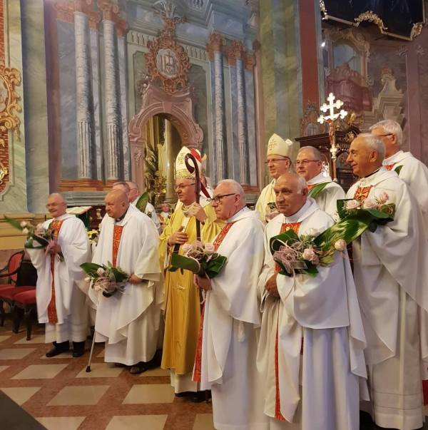 Msza św. jubileuszowa w archikatedrze lubelskiej
