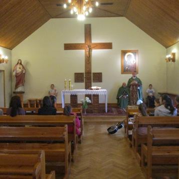 Msza św w domu rekolekcyjnym (2)