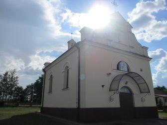 Kościół w Chmielu- widok obecny