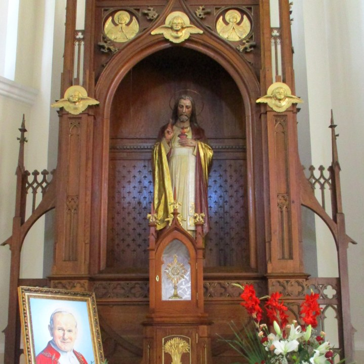 Ołtarz Serca Pana Jezusa