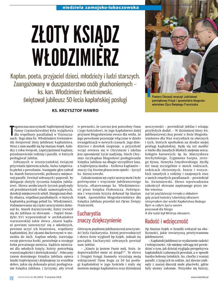 Niedziela -artykuł